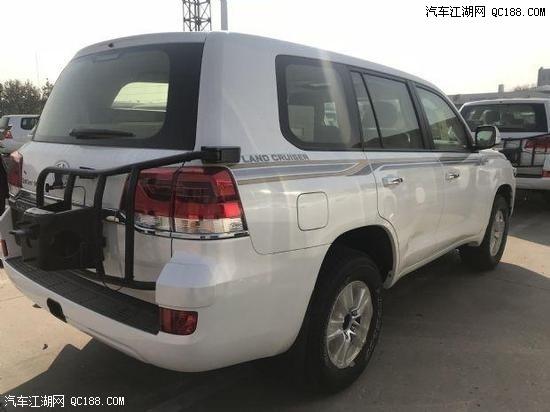 2019款中东版丰田酷路泽4000到店评测
