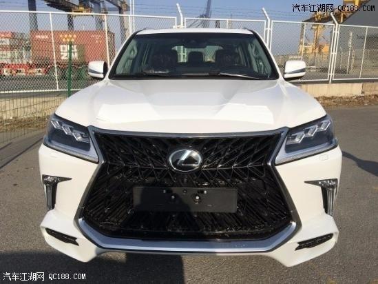 2020款中东版雷克萨斯LX570现车体验