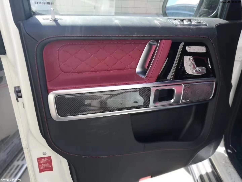 平行进口20款加版奔驰G350详细配置详情