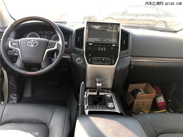 丰田进口兰德酷路泽5700中东版配置解读