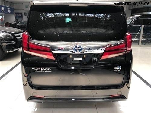 2020款丰田埃尔法2.5L中东版报价解析
