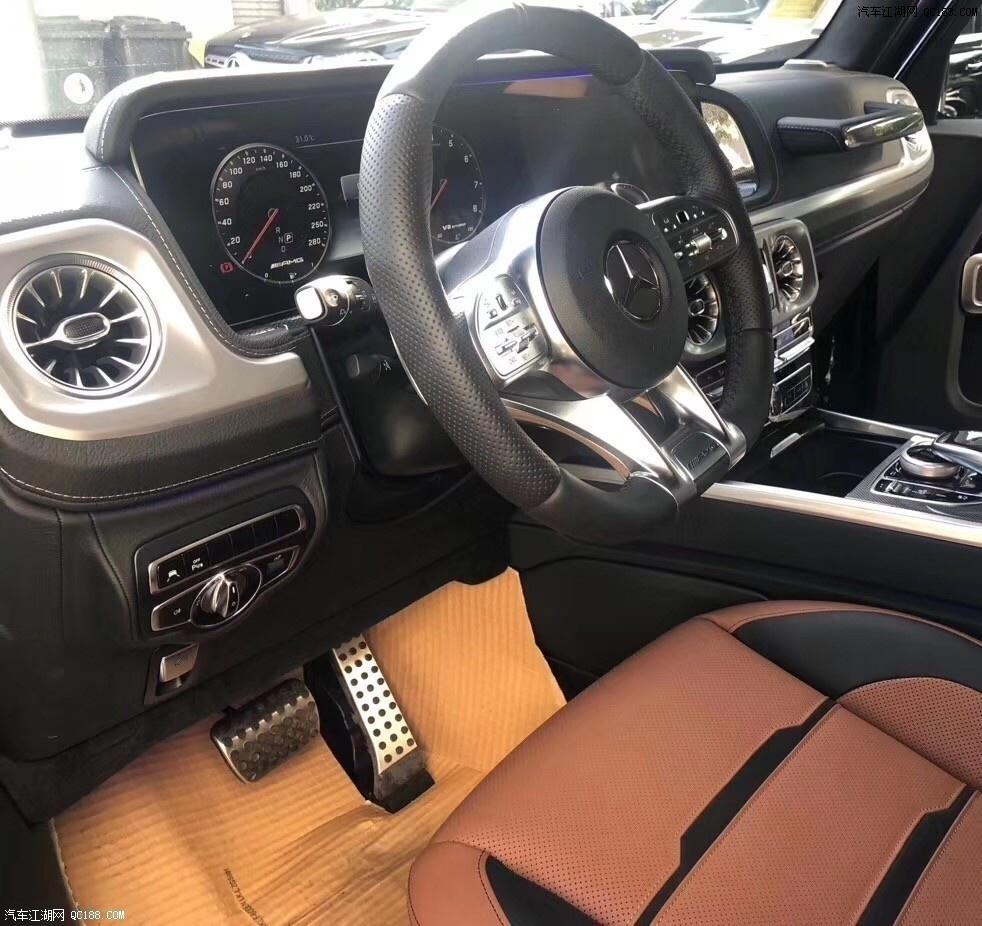 2020款美规奔驰G550 最具性价比越野直