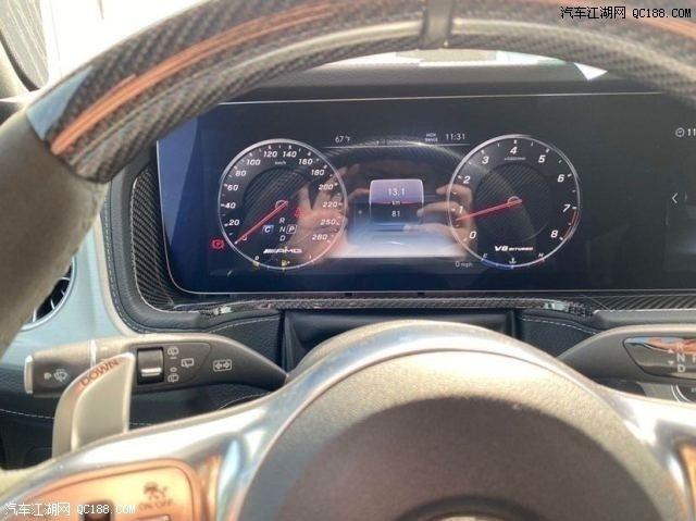 平行进口2020款美规版奔驰G63体验评测