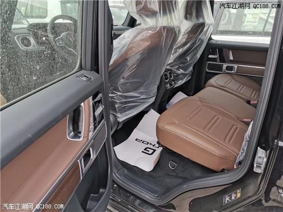 2020款美规奔驰G500现车内外实拍图解