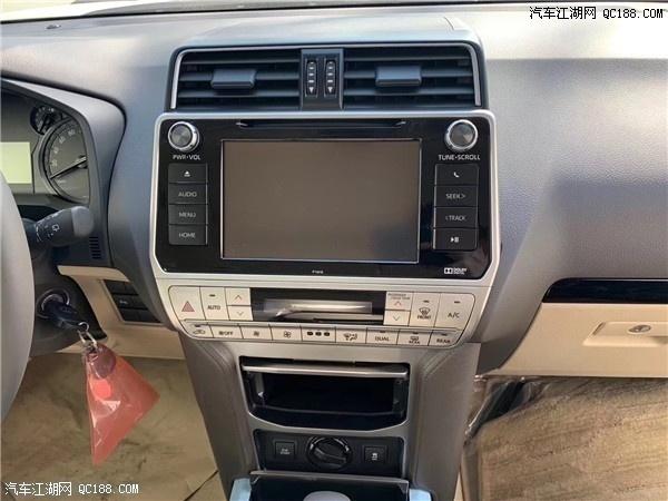 原装进口丰田普拉多4000中东版试驾体验