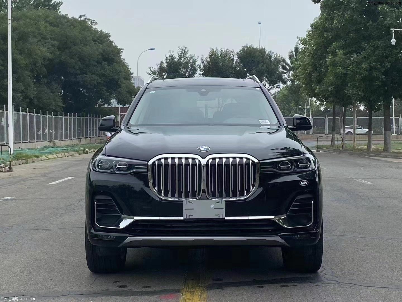 2020款寶馬X7美規版實車內外實拍圖解