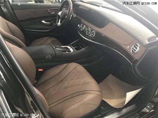 19款迈巴赫S450四驱豪华版现车内外解读