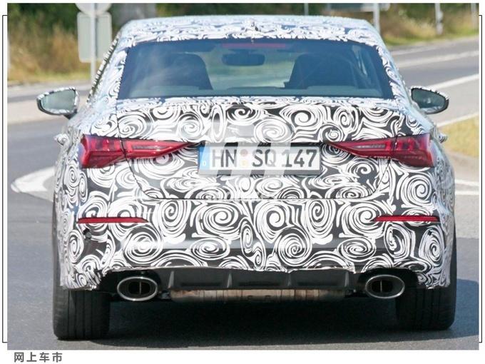 奥迪全新RS 3车型路试谍照 2021年亮相