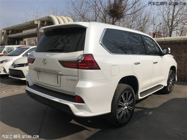中东版2020款进口雷克萨斯LX570评测体验