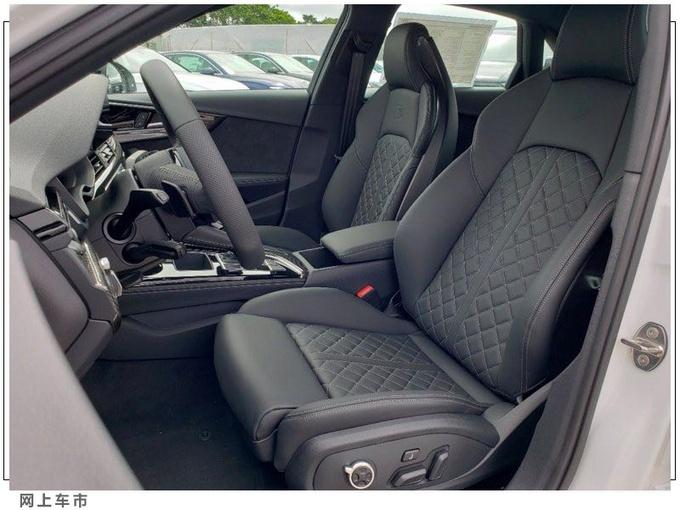 奥迪新款S4车型实拍图 以进口形式引入