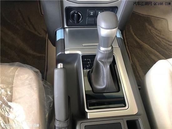 2020款丰田普拉多4000中东版参数解读