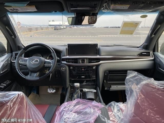 中东版20款进口雷克萨斯LX570价格解答