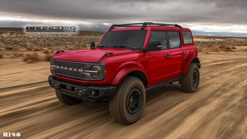 福特Bronco Sasquatch套件版�型渲染�D