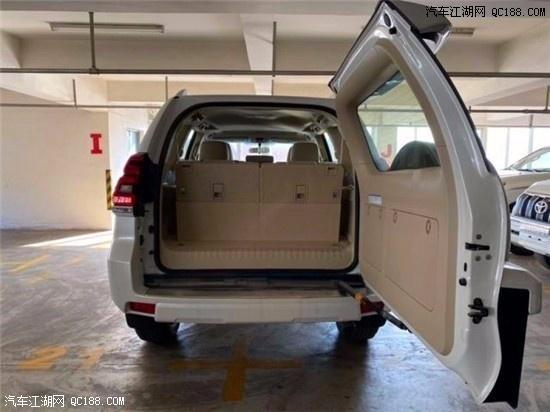 2020款普拉多4000EXR无窗配置实车行情