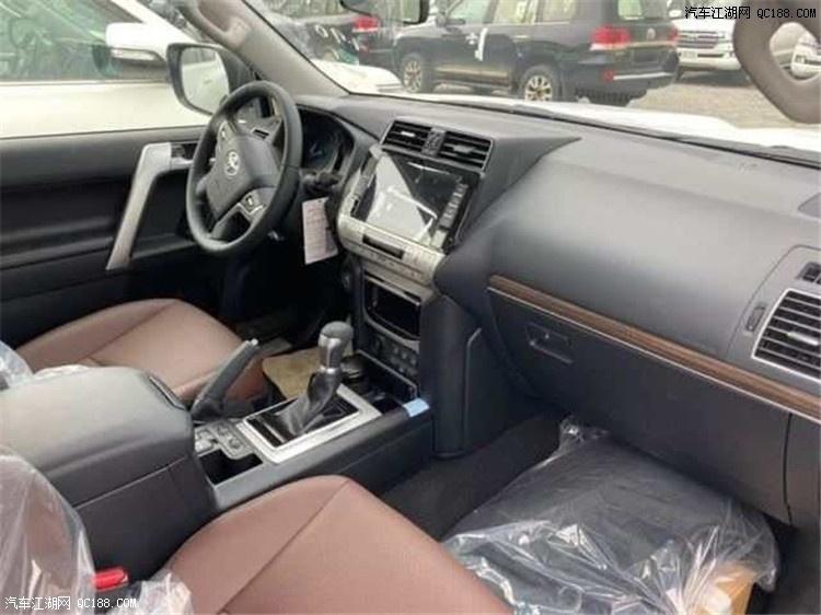 20款丰田普拉多4.0LVXR摇启真皮版实拍
