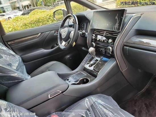 20款中东版丰田雷克萨斯LM300内饰实拍