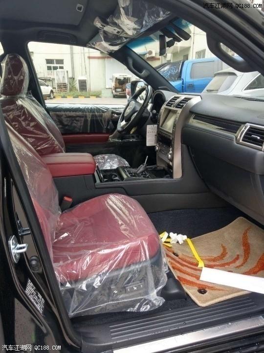 20款丰田雷克萨斯GX460中东版现车体验