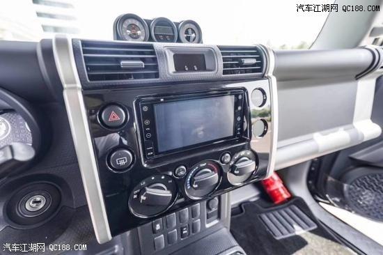 2020款丰田FJ酷路泽中东版现车配置介绍