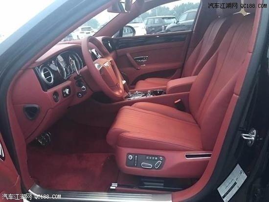 18款全新宾利飞驰V8S 4.0T实车最新优惠