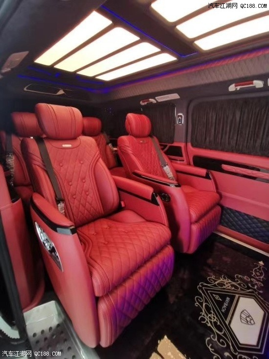 新奔驰V260L尊贵加长版高顶性能实拍感受