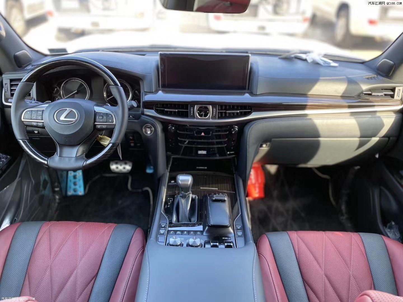 20款中东版丰田雷克萨斯LX570配置下文