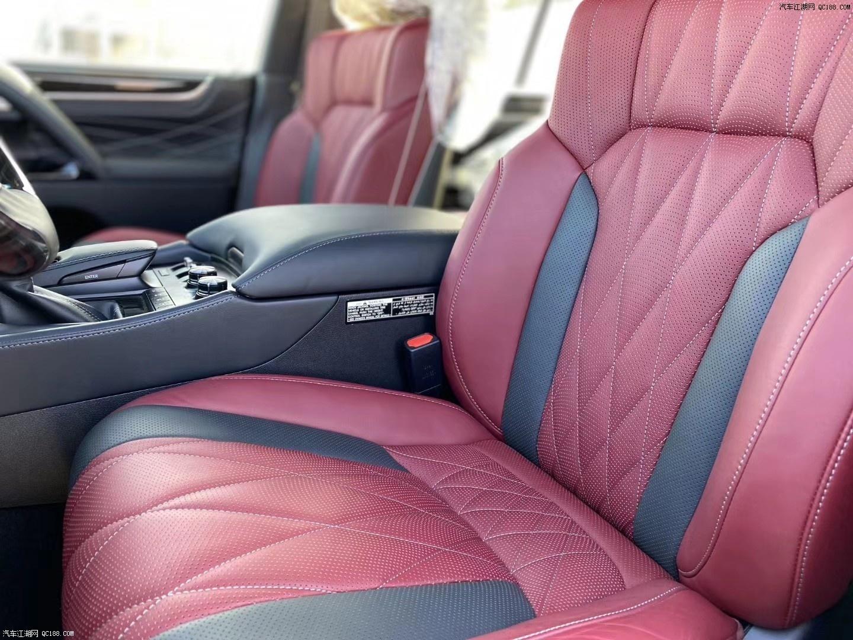 20款中东版丰田雷克萨斯LX570配备详情