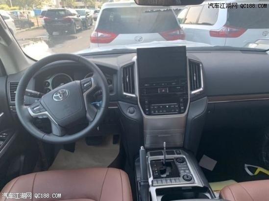 2020款丰田酷路泽5700中东版详细解析