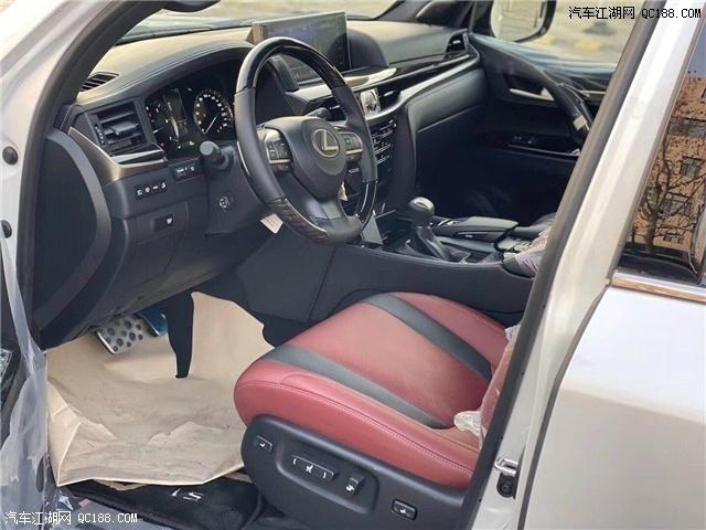20款中东版丰田雷克萨斯LX570现车报价