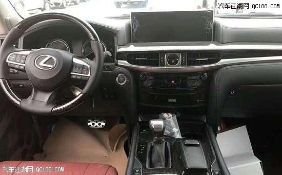 20款中东版丰田雷克萨斯LX570性能体验