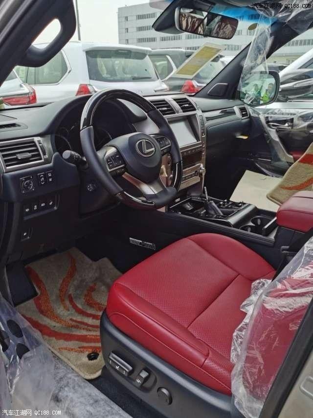 中东版20款丰田雷克萨斯GX460性能体验