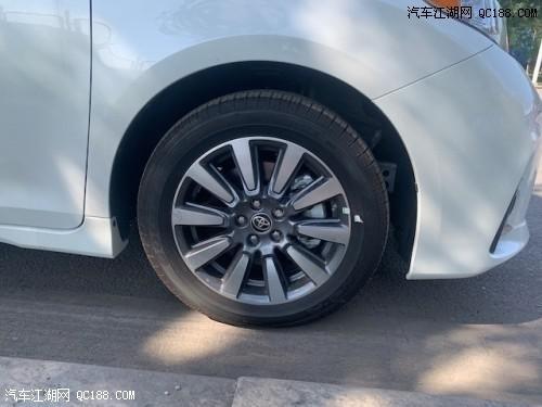 墨西哥版2020款丰田塞纳动力性能详解