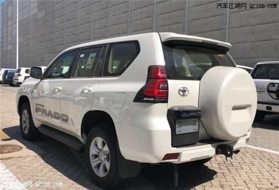 2020款丰田霸道4000VX中东版现车行情