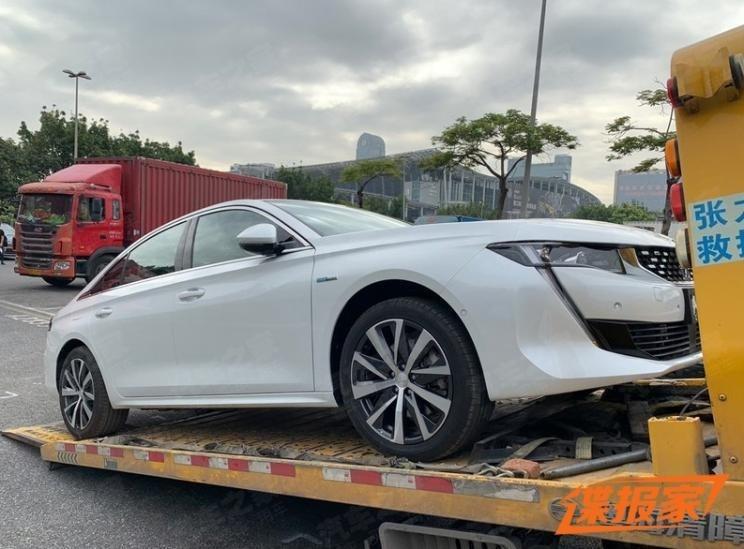 2020广州车展开幕在即 标致508L PHEV