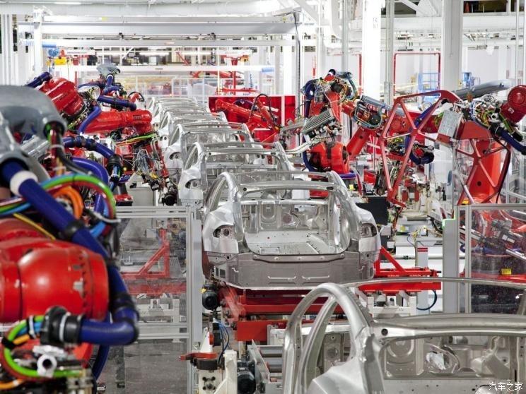 特斯拉上海工厂计划周生产5700辆Model 3