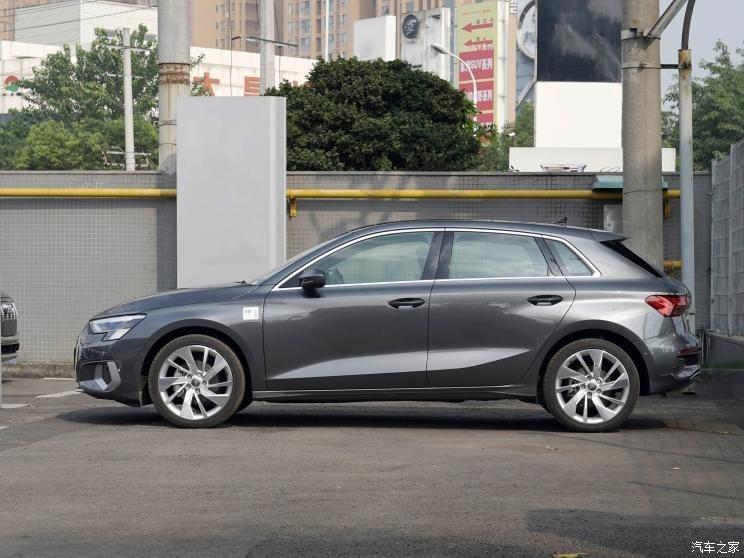 直击2020广州车展 全新款奥迪A3两厢版