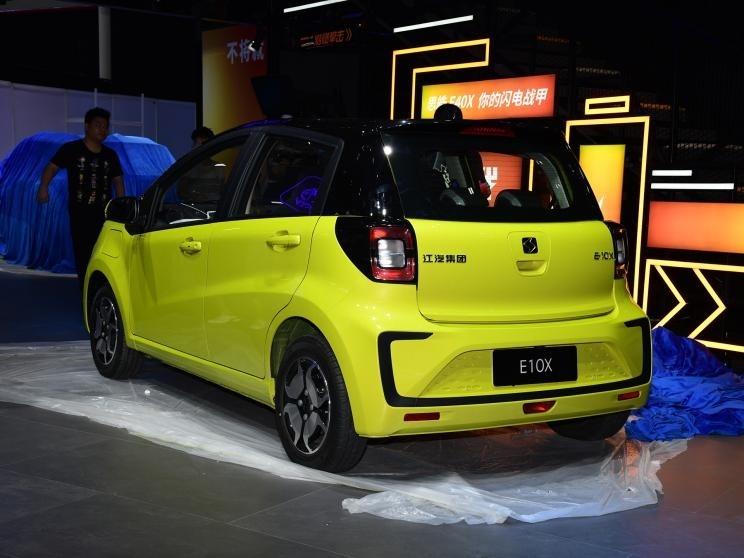 直击2020广州车展 思皓E10X车型首次公开