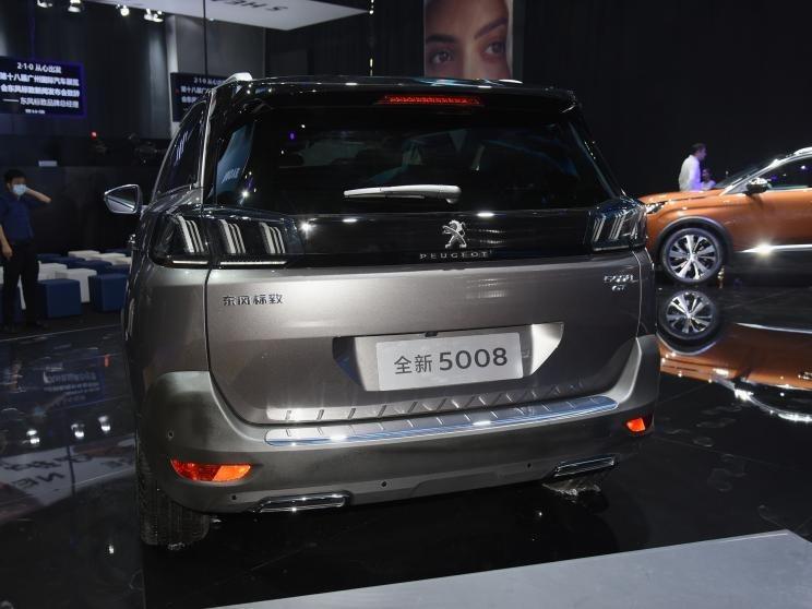 直击2020广州车展 新东风标致5008亮相