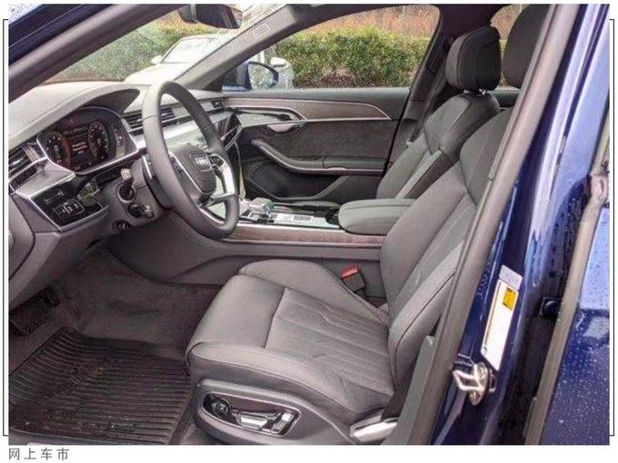全新款奥迪A8车型实拍图片 配熏黑套件