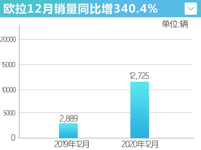 2020年长城汽车销售1111598辆 增长4.8%