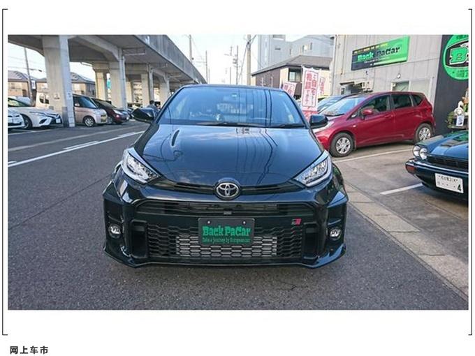 高性能版车型 丰田GR雅力士实车街拍图