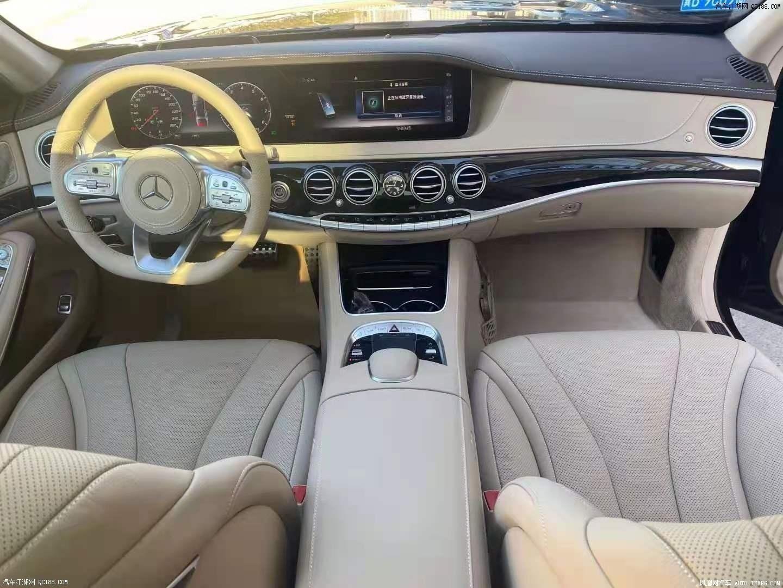英飒奔驰S450L国六现车 碳纤维运动套件