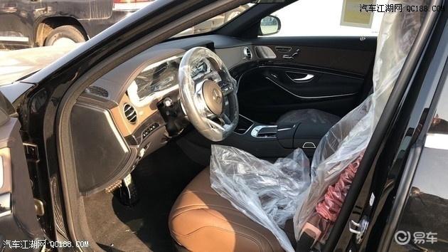 新款英飒奔驰S450实拍 配专属典藏组件