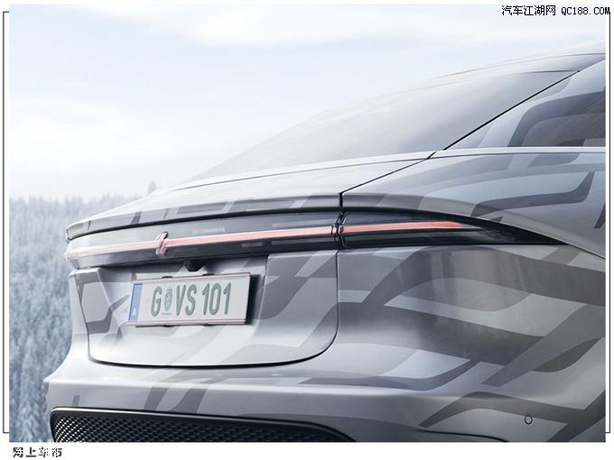 定位四门四座轿跑车 索尼纯电原型车路试