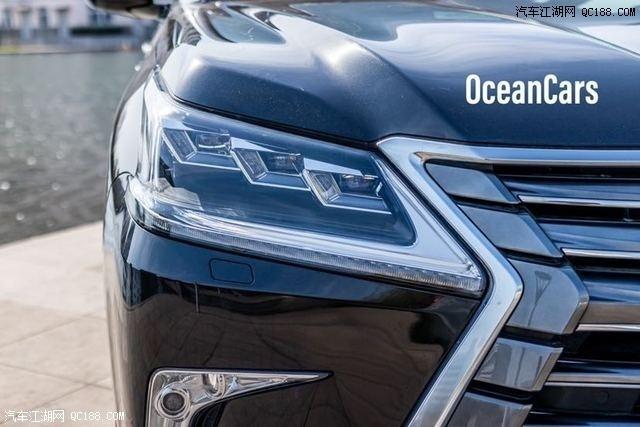 20款中东雷克萨斯LX570铂金版顶配实拍