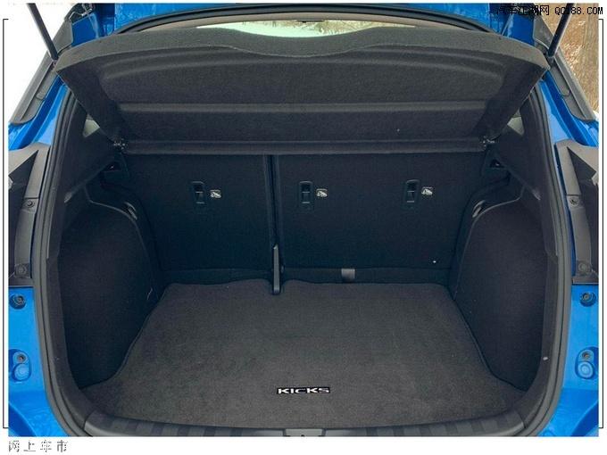 定位为小型SUV 日产新款劲客车型实拍图