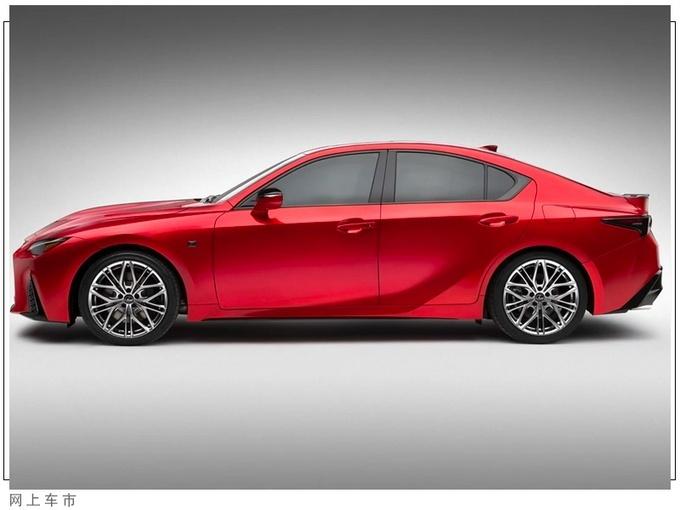 雷克萨斯全新IS 500海外市场正式发布