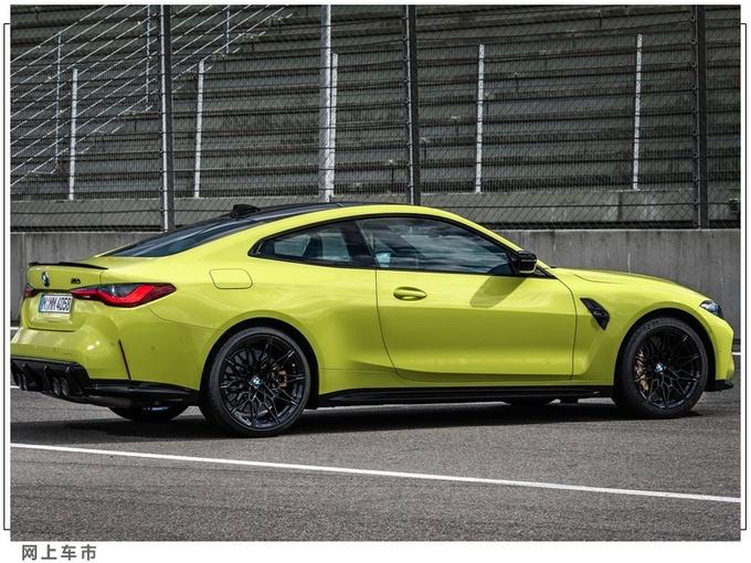 宝马M4新车最新消息海外曝光 配置提升