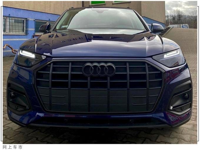 新款奥迪Q5车型实拍曝光 升级熏黑套件
