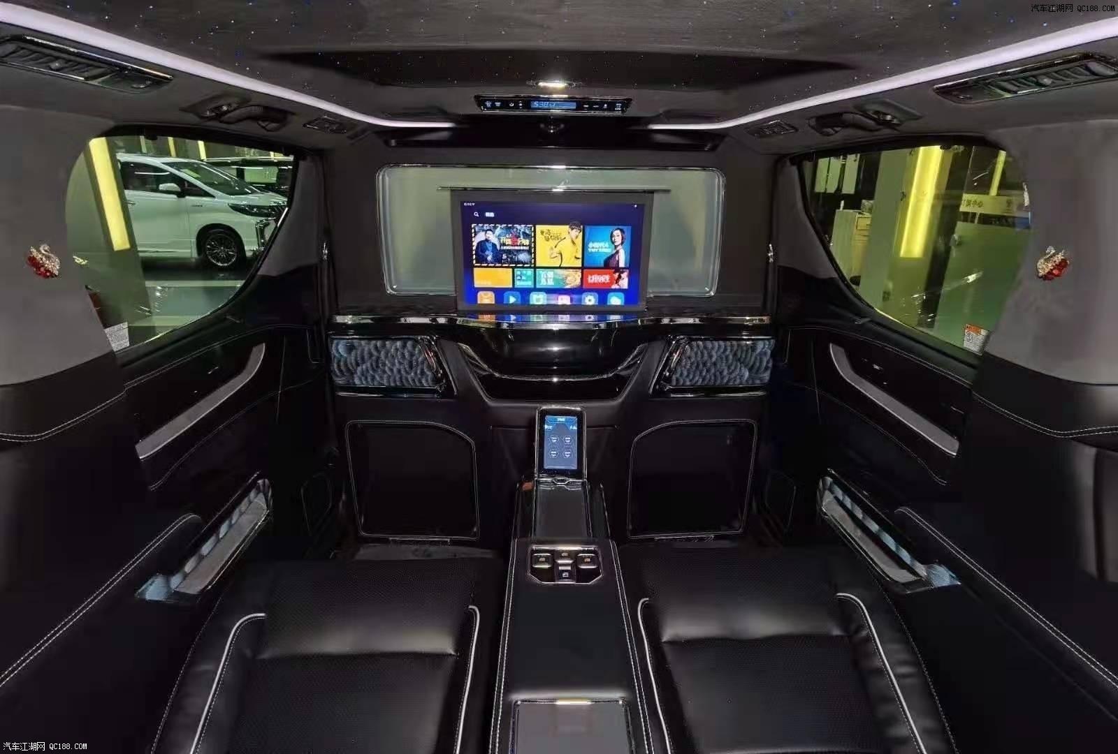 2020款全新中东版丰田埃尔法现车评测