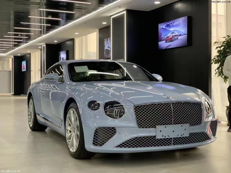 2021款宾利欧陆GT两门限量版实拍行情